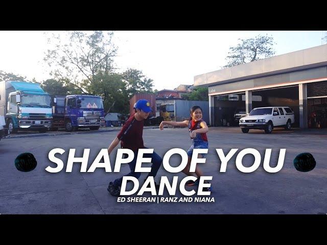 Ed Sheeran Shape Of You Siblings Dance Ranz and Niana