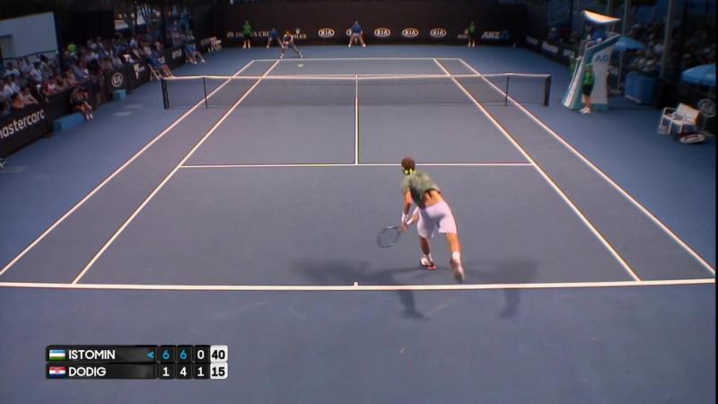 Istomin v Dodig match highlights (1R) _ Australian Open 2017