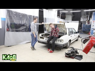 Volvo 740 Tuning Ep.3 / Ремонт и восстановление. Начало / Бюджетное занижение