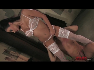 Stockings aletta ocean in white lingerie [hd 720, all sex, big tits]