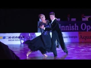 Dmitry Zharkov - Olga Kulikova | Slow Foxtrot | WDSF GrandSlam Helsinki 2016