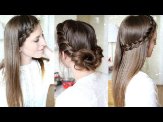 3 Quick and Easy Heatless Hairstyles | Pretty Hairstyles | Braidsandstyles12