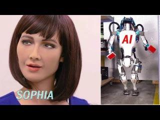Cute Sophia smile    Boston dynamics AI robots    Future of Humanity