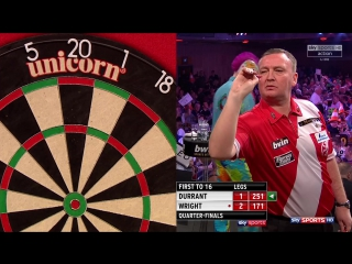 Glen Durrant vs Peter Wright (Grand Slam of Darts 2017 / Quarter Final)