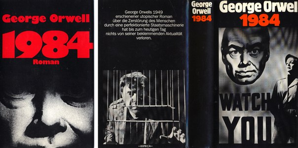 a review of 1984 by george orwell