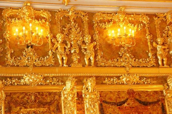 «Восьмое чудо света» - Янтарная комната или «кабинет», изображение №2