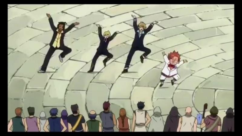 Колян танцует лучше всех Хвост феи