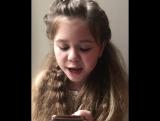 Iowa - Улыбайся (Девочка 9-ти лет поет популярную песню)