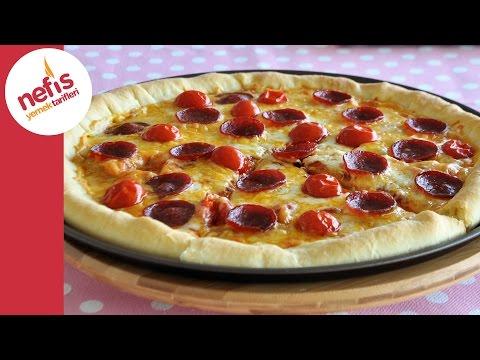 Dolgu Kenarlı Pizza Tarifi