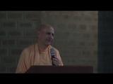 Talk by HH Radhanath Swami @ Govardhan Eco Village, 2012 - Day 1
