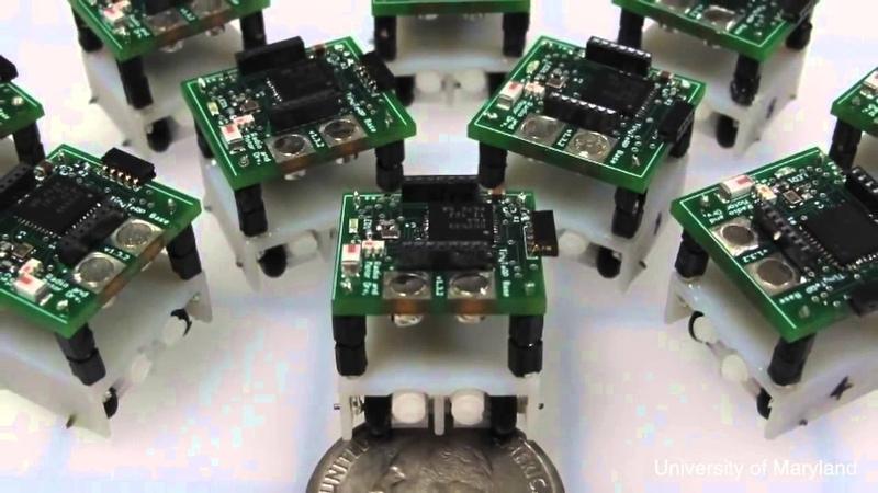 10個不可思議的微型機器人 10 Incredible Micro Robots