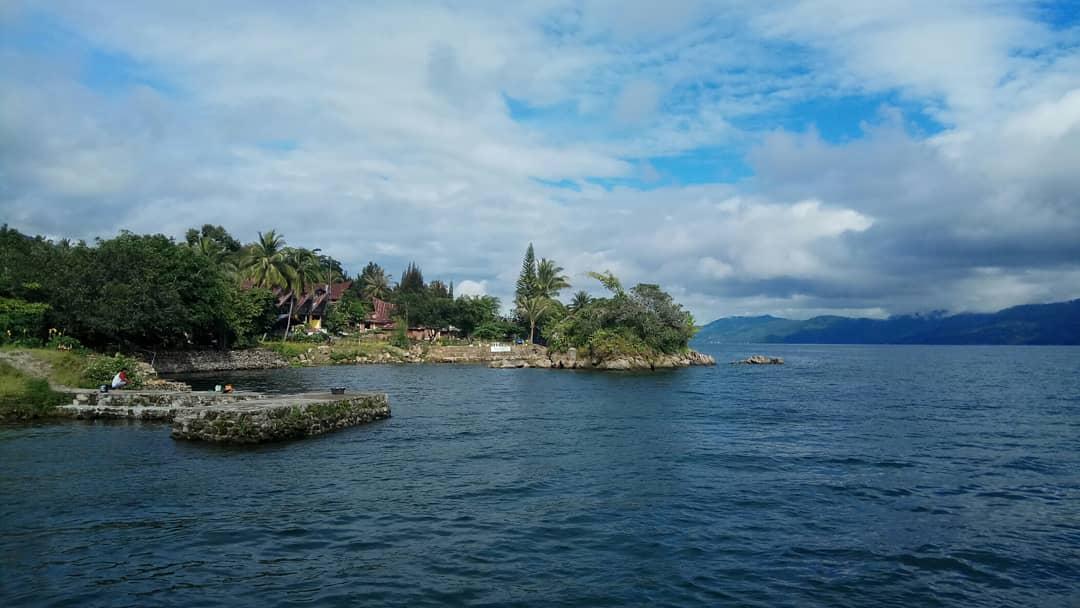 озеро тоба супервулкан северная суматра индонезия