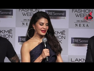 Jacqueline Fernandez Interview At Lakme Fashion Week 2018