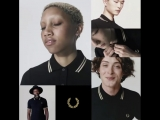 Fred Perry Shirt BlackChampagne