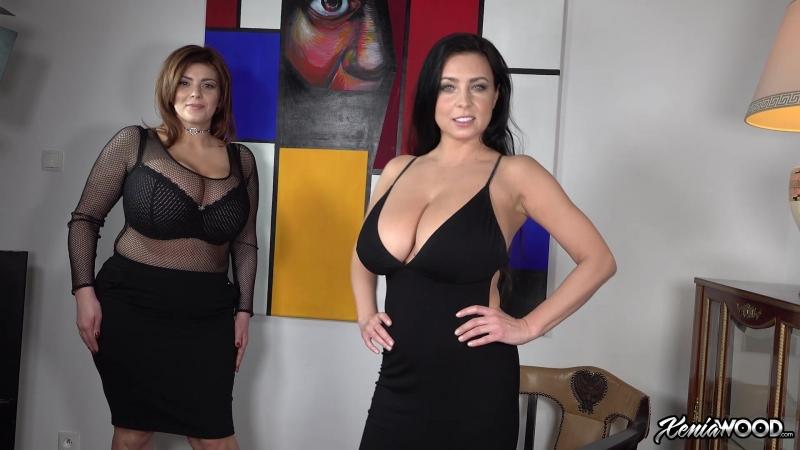 Xenia Wood Posing with Ewa Sonnet