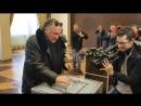 Жерар Депардье выбирает президента РФ