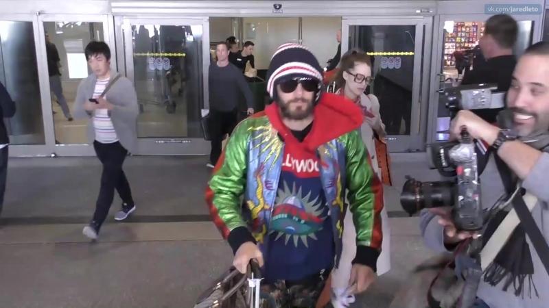 23.02.2017 | Джаред покидает аэропорт LAX | Лос-Анджелес, США