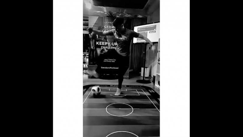 Cool football freestyle from Jamie KnightMonaco 👍👏🌟💕Via Lau's IGS 👻