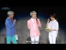 [рус.саб] Джонхён на «2015 MBC Radio DJ Concert» вместе с Zion.T (150906 )