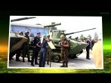 Десантный взвод-2018 Выставочные площадки техники и вооружения ВДВ