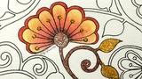Secret Garden Coloring Book How I color heart details Jardim Secreto