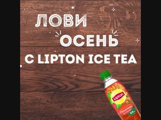 Lipton ice tea — прекрасный выбор