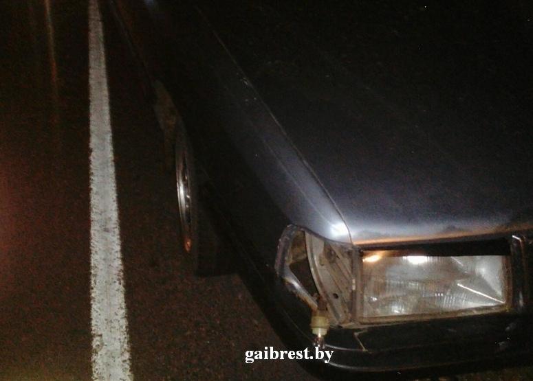 Лунинецкий район: в результате ДТП пострадала женщина-пешеход