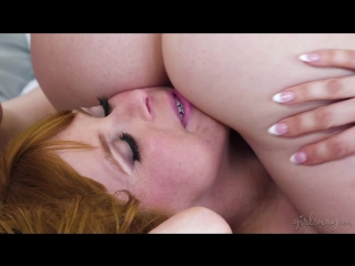 Maddy O'Reilly, Penny Pax, Lexi Belle - Wrong Room [Big Tits, Threesome, Natural Tits, Pussy Licking, Ass, Lesbian, 1080p]
