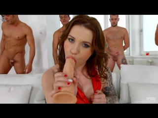 Monika wild [pornmir, порно вк, new porn vk, hd 1080, russian, brown haired, natural tits, tatooed, 4 on 1, oral, hardcore]