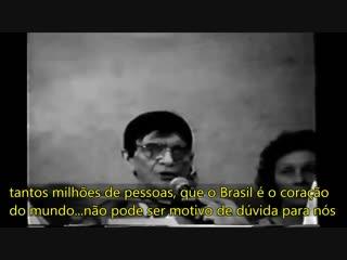 Chico Xavier no Grupo Perseverança de São Paulo faz alertas proféticos sobre a missão do Brasil - Portal Saber Espiritismo - Gru