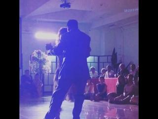 Momentos 3, 3/5 Mariano Chicho Frumboli  with Carolina Giannini  -Catania Tango Weekend- 29-30.06.2018 Night Milonga