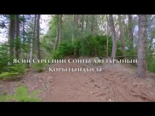 Ясин сүресінің тəпсірі: Қорытынды /Ерлан Ақатаев