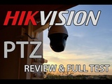 Hikvision PTZ 20x 2MPX HD PoE 2017 Full test DS-2DE4220IW-DE