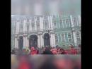 Перед стартом полумарафон на дворцовой площади 5 августа 2018