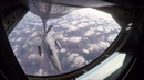 Polish F-16C refueling by Illinois ANG KC-135