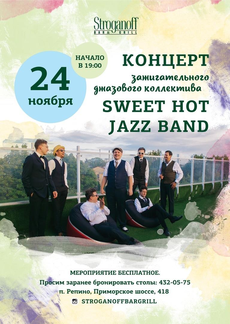 24.11 Sweet Hot Jazz Band в Stroganoff Bar & Grill!