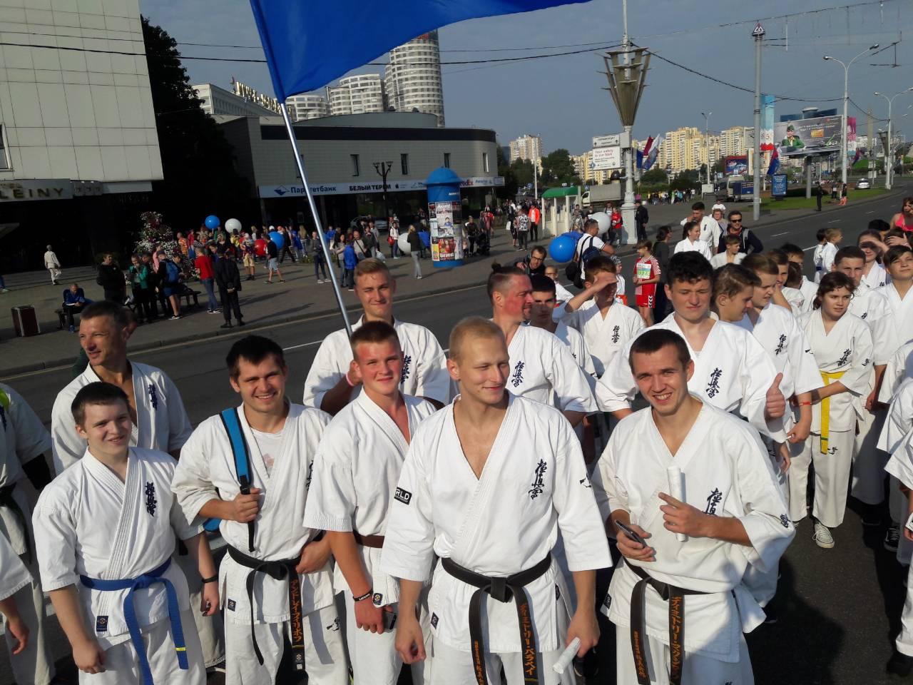 Участвуем в Минском полумарафоне