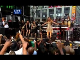 Beyonce - Irreplaceable (Live at GMA Good Morning America)