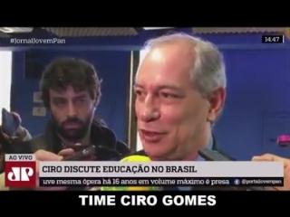 Ciro Gomes falou, nesta sexta-feira, mais sobre seu plano para tirar as pessoas das restrições do SPC e Serasa! Acompanhem! #Sou