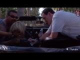 Uma Thurman. A Crash on the Set of