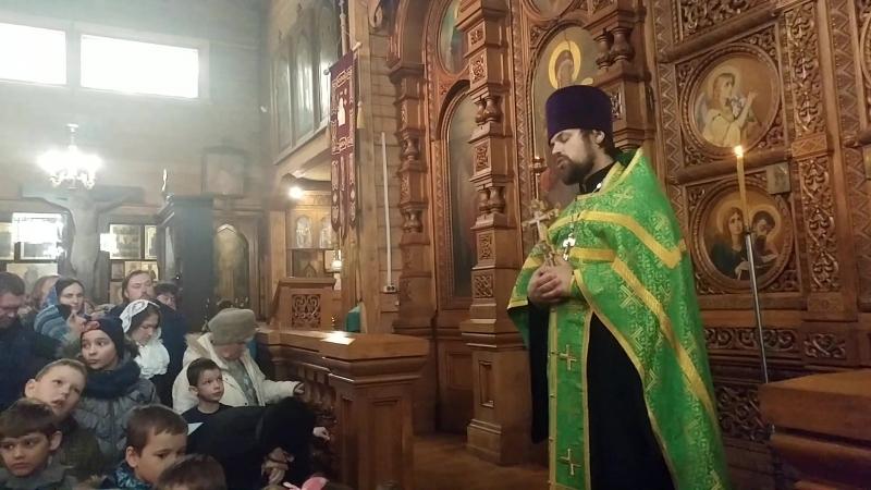 Проповедь о.Сергия Чекоданова к дню памяти прп.Серафима Вырицкого