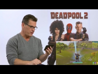 Watch Josh Brolin react to seeing himself as Thanos in @FortniteGame