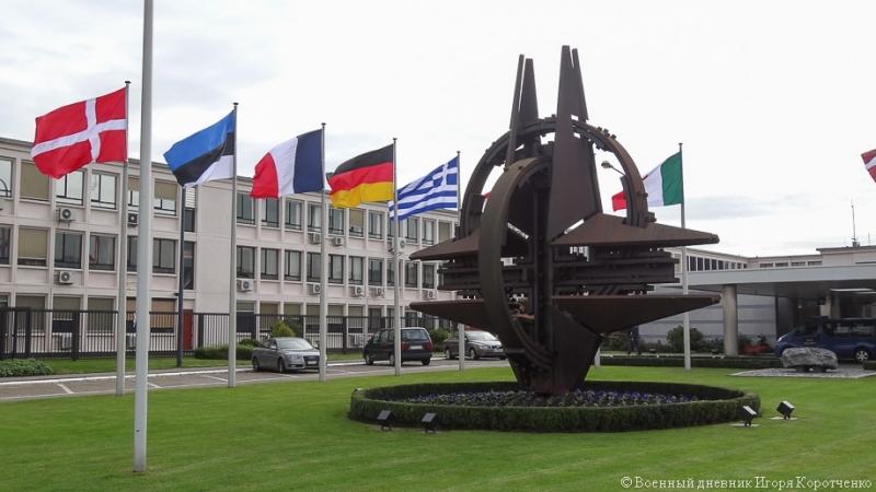Фасад штаб-квартиры НАТО в Брюсселе покрыт плитами из инкерманского камня