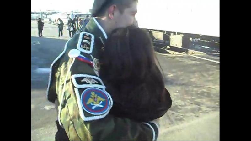 Девушка дождалась парня с армии. Любимый мой я тебя тоже дождусь, обещаю и я это » Freewka.com - Смотреть онлайн в хорощем качестве