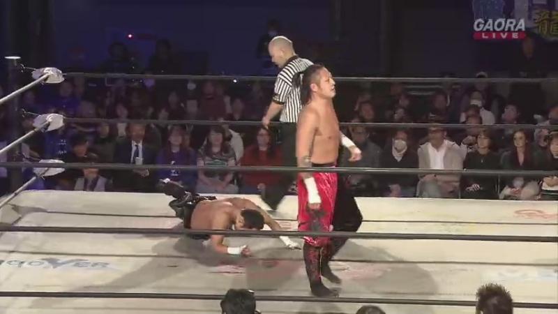 Yasushi Kanda (c) vs. Punch Tominaga (Dragon Gate - Champion Gate 2018 in Osaka - Day 1)