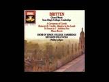King's College Choir - Rejoice in the Lamb (Britten) Part 1
