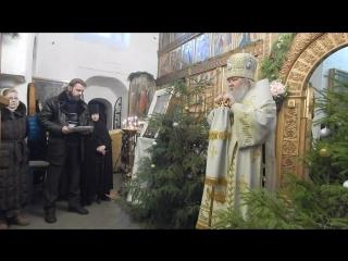 Проповедь Владыки Сергия Булатникова в Святых гора.15 января 2018 года.