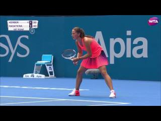 2017 Apia International Sydney Second Round | Daria Kasatkina vs Angelique Kerber | WTA Highlights