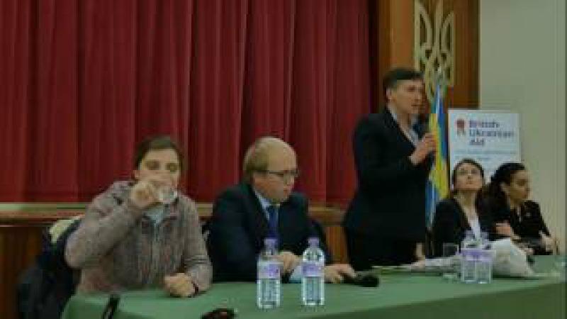Н.Савченко та М.Берлінська в Лондоні. Частина 1