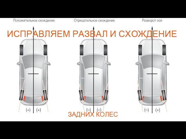 Исправляем развал и схождение задних колес на ланос сенс нексия шанс опель кадет вектра